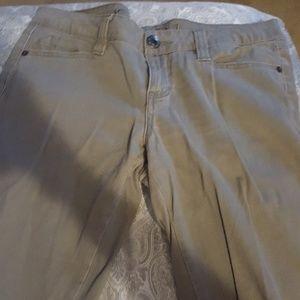 Tan Brown Jeans